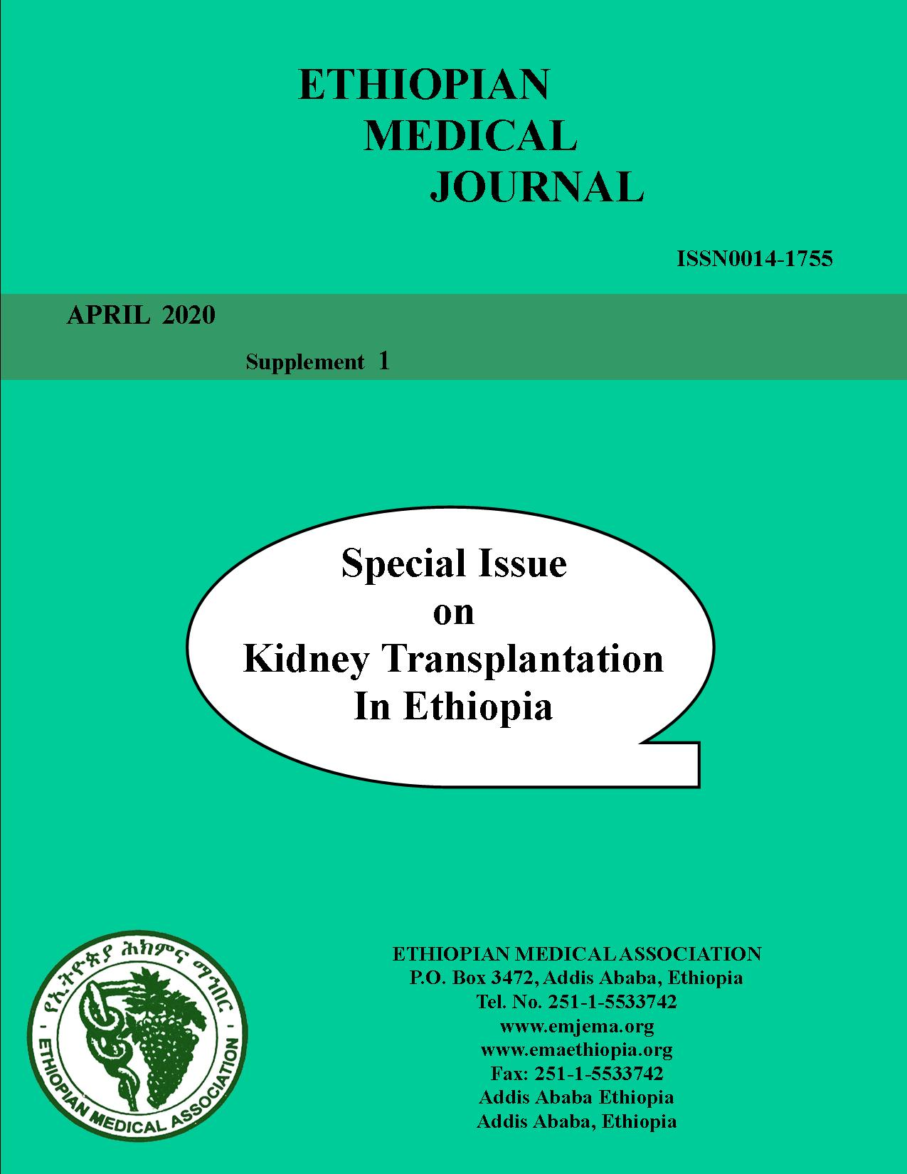 Medical Outcome Of Renal Allograft Donors At National Kidney Transplant Center Saint Paul S Hospital Millennium Medical College Addis Ababa Ethiopia Ethiopian Medical Journal