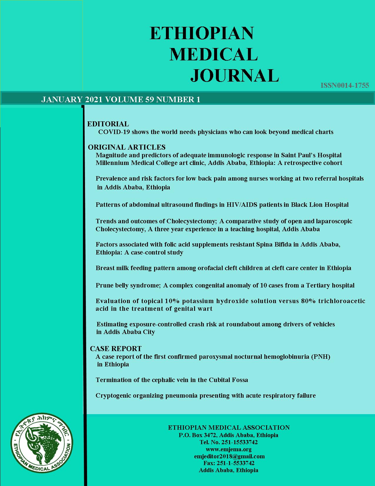 View Vol. 59 No. 01 (2021): EMJ January 2021 issue